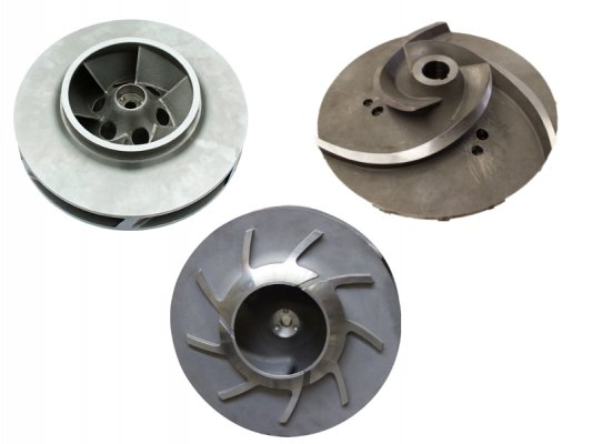 Closed and Open Impellers